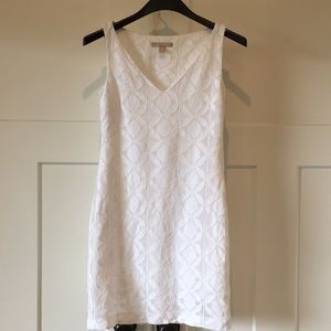 Banana Republic White 2P dress